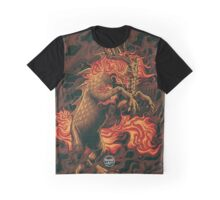 Qilin The Mythical Hooved Chimerical Creature Graphic T-Shirt