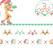 Super Metroid Ugly Sweater Sticker