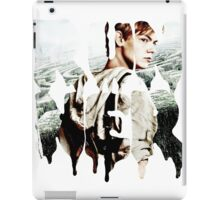 runner - newt iPad Case/Skin