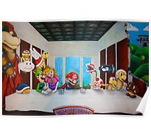Mario the Last Supper Poster