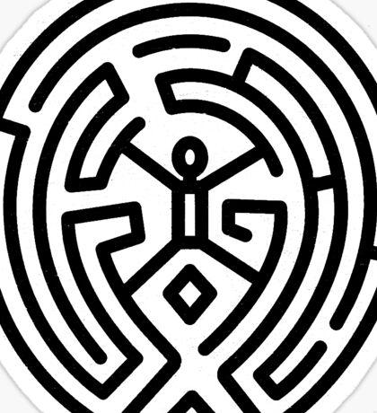 Westworld Black Maze Original Sticker