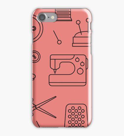 Sewing Pattern iPhone Case/Skin