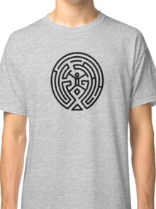 Westworld Black Maze Original Classic T-Shirt