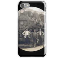 Locomotive 104 iPhone Case/Skin