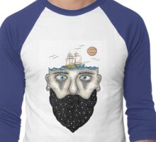 Sailor Beard Men's Baseball ¾ T-Shirt