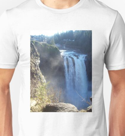 Snoqualmie Falls with House Unisex T-Shirt