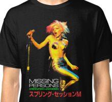 MISSING PERSONS Dale Bozzio Tour Japan Classic T-Shirt