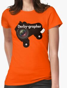 Derby-grapher Womens Fitted T-Shirt