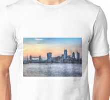 The River Thames and the City Unisex T-Shirt
