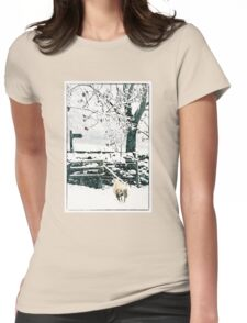 Lost Sheep Womens Fitted T-Shirt