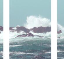 Waves crashing Sticker