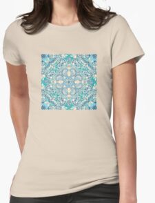 Gypsy Floral in Teal & Blue T-Shirt