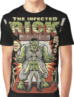 The Infected Rick Graphic T-Shirt