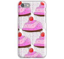 Sprinkle Cupcake Pattern iPhone Case/Skin