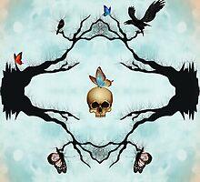 Death & Butterflies by DREAMBEYONDART