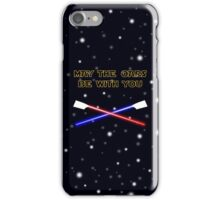 May the oars be with you rowing pun iPhone Case/Skin