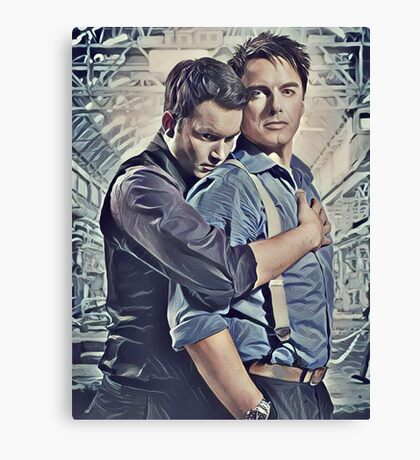 Little Ditty 'Bout Jack and Ianto Canvas Print