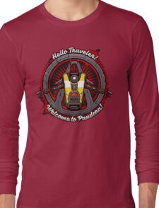 Borderlands - Claptrap art Long Sleeve T-Shirt