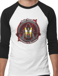 Borderlands - Claptrap art Men's Baseball ¾ T-Shirt