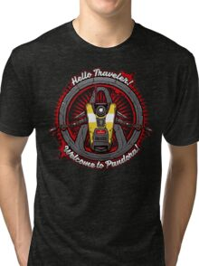 Borderlands - Claptrap art Tri-blend T-Shirt