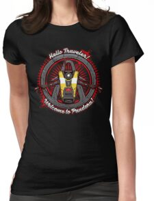 Borderlands - Claptrap art Womens Fitted T-Shirt