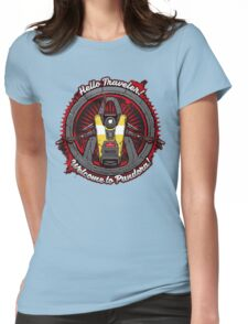 Borderlands - Claptrap art Womens Fitted T-Shirt