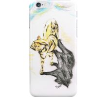 Another Cat following iPhone Case/Skin
