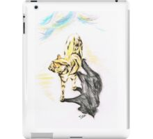 Another Cat following iPad Case/Skin