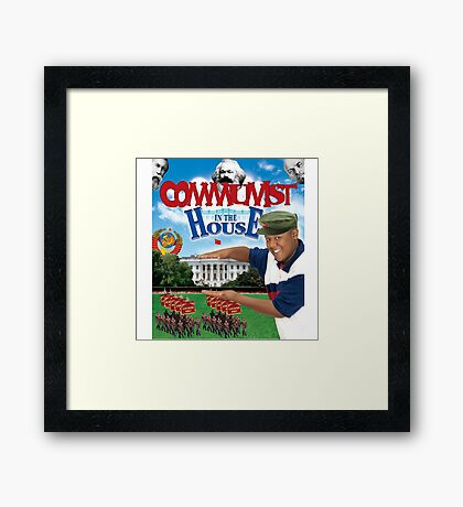 Comrade Corey in the House Framed Print