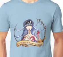 Hold my heart it's beating for you anyway Unisex T-Shirt