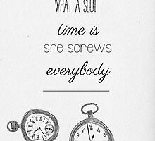 tfios quote- time screws everybody by madebydidi