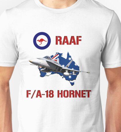 F/A-18 Hornet of the RAAF Unisex T-Shirt