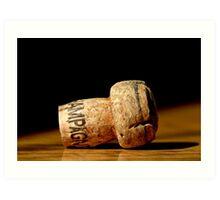 Champagne Cork 2 Art Print
