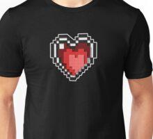 3D PIXEL - Hearts (BLACK) Unisex T-Shirt