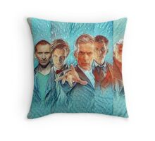 The New Doctors Throw Pillow