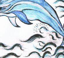 Bottle nose Dolphin Sticker