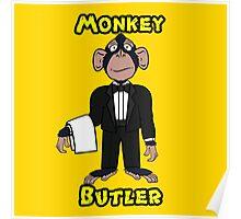 Monkey Butler Poster