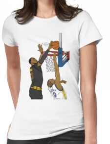 The block Womens Fitted T-Shirt