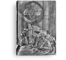 Coke and a Ride Metal Print
