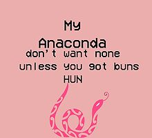 Anaconda by NickiMBaby