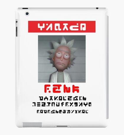 "Rick - ""Wanted!"" Poster iPad Case/Skin"