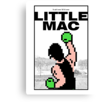 Punch-Out - Little Mac Rocky Poster Canvas Print