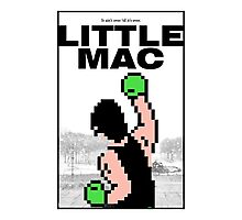 Punch-Out - Little Mac Rocky Poster Photographic Print