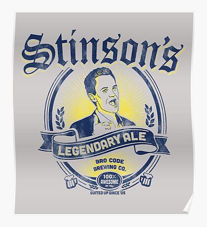 Stinson's Legendary Ale Poster