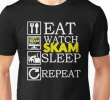 Eat, Sleep, Watch Skam and Repeat Unisex T-Shirt