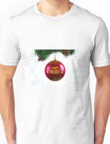 happy holidays christmas Unisex T-Shirt