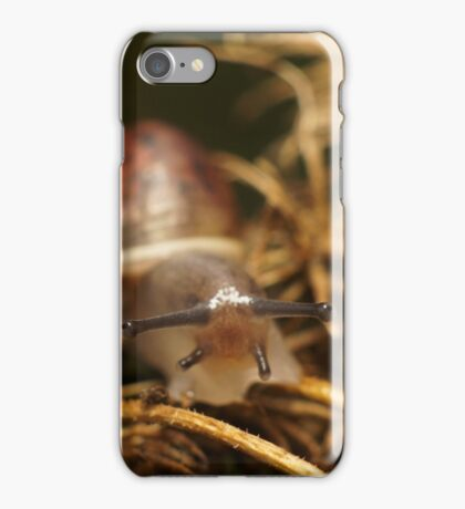 Snail Selfie iPhone Case/Skin