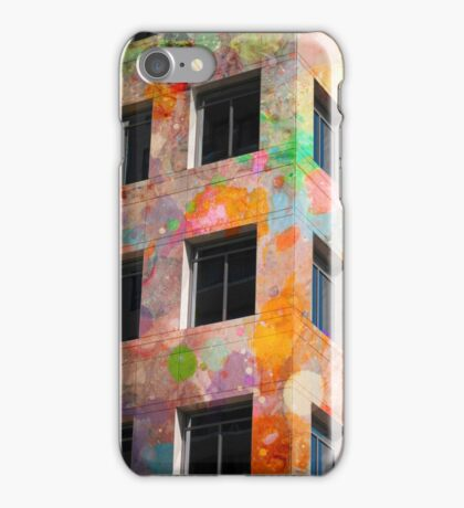 Painted Building iPhone Case/Skin