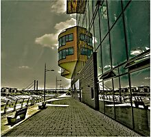 University of Newport, South Wales perspective. by Tim Constable