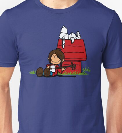 The storyteller and his origami Unisex T-Shirt